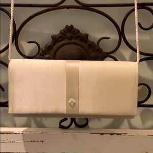 Vintage wedding bag/purse Ivory